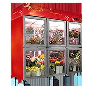 A型鲜花柜