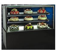 13RT 黑大理石日式蛋糕柜