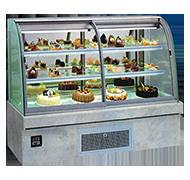 13DA-B1 圆弧前移门蛋糕柜