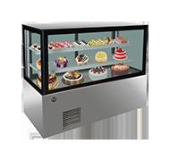 16LZT 日式直角不锈钢底座蛋糕柜
