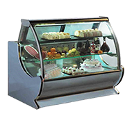 圆弧WL型冷藏柜