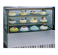 13RT 不锈钢底座蛋糕柜