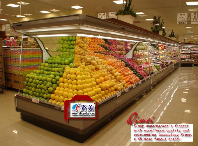 超市水果保鲜展示柜