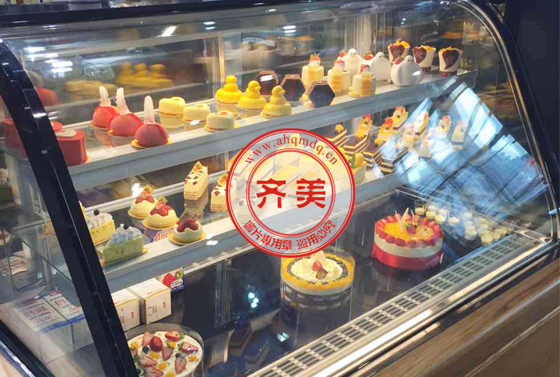 北京 好利来蛋糕13XG-A 后移门蛋糕柜_大理石_蛋糕店
